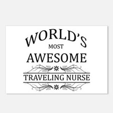 World's Most Awesome Traveling Nurse Postcards (Pa