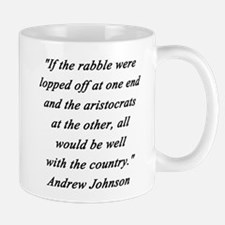 Johnson - Rabble Aristocrats Mug