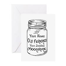 Custom Moonshine Greeting Cards (Pk of 10)