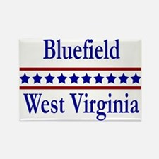 Bluefield WV Rectangle Magnet