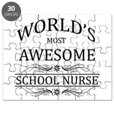 World's Most Awesome School Nurse Puzzle