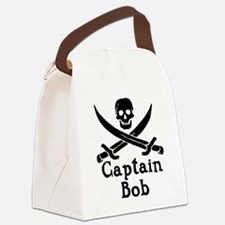 Captain Bob Canvas Lunch Bag