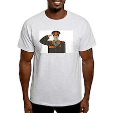 Soviet Soldier Ash Grey T-Shirt