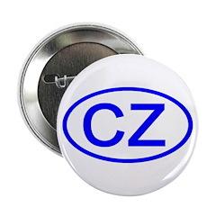 Czech Republic - CZ Oval Button