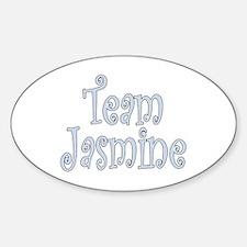 Team Jasmine Oval Decal