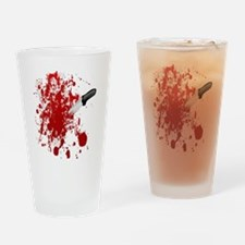 Realistic Halloween Drinking Glass