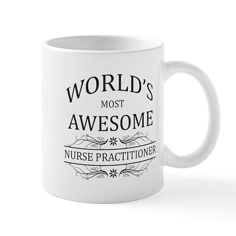 World's Most Awesome Nurse Practitioner Mug