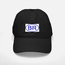 Brazil - BR Oval Baseball Hat