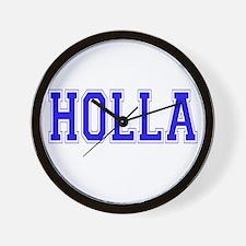 Holla Wall Clock