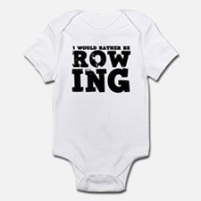 'Rather Be Rowing' Infant Bodysuit