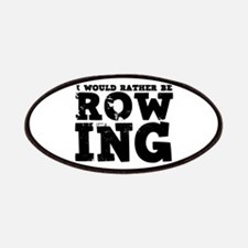 'Rather Be Rowing' Patches