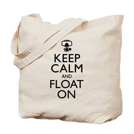Keep Calm Float On Tote Bag