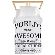 World's Most Awesome Medical Student Twin Duvet