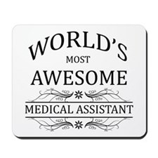 World's Most Awesome Medical Assistant Mousepad