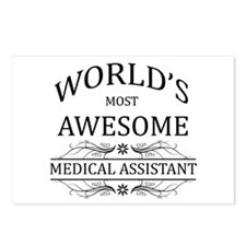 World's Most Awesome Medical Assistant Postcards (