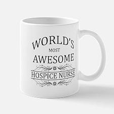 World's Most Awesome Hospice Nurse Mug