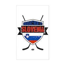 Hockey Hokej Slovenia Shield Decal