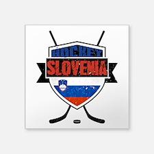 Hockey Hokej Slovenia Shield Sticker