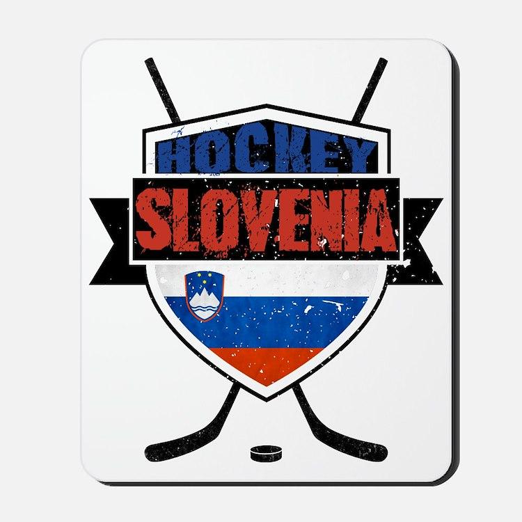 Hockey Hokej Slovenia Shield Mousepad