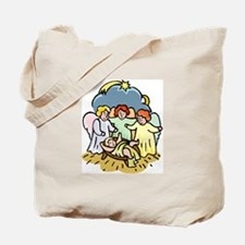 Sweet Nativity Scene Tote Bag