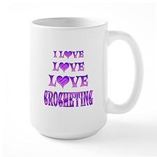 Love Love Crocheting Mug