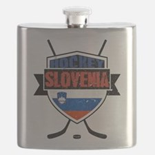 Hockey Hokej Slovenia Shield Flask