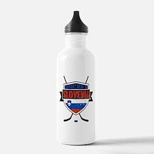 Hockey Hokej Slovenia Shield Water Bottle