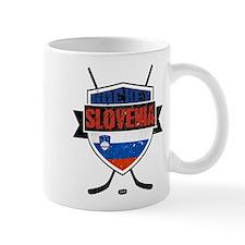 Hockey Hokej Slovenia Shield Mug