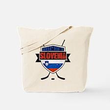 Hockey Hokej Slovenia Shield Tote Bag