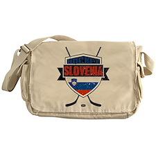 Hockey Hokej Slovenia Shield Messenger Bag