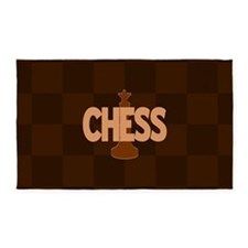 Chess Queen 3'x5' Area Rug