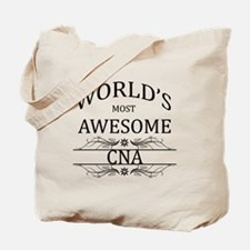 World's Most Awesome CNA Tote Bag