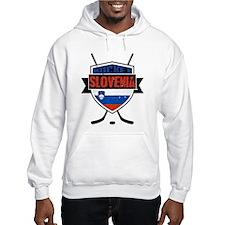Hockey Hokej Slovenia Shield Hoodie