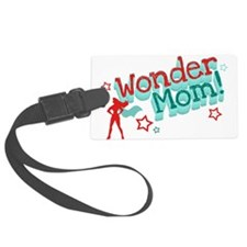 Wonder Mom Luggage Tag