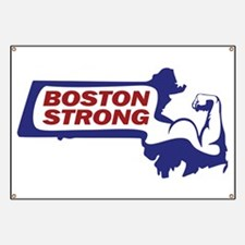 Boston Strong Bicep Red/White/Blue Banner