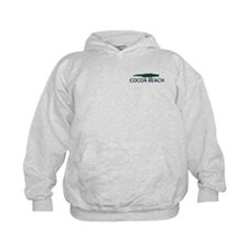 Cocoa Beach - Alligator Design. Hoody