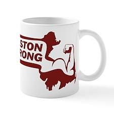 Boston Strong Bicep Red Mug