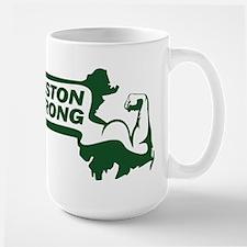 Boston Strong Bicep Green Mug