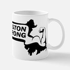 Boston Strong Bicep Black Mug