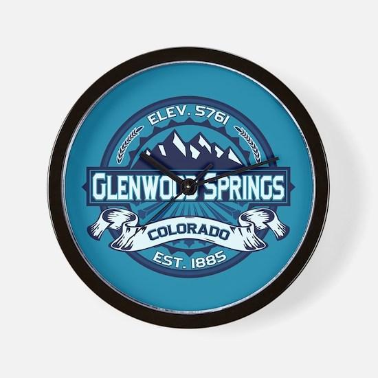Glenwood Springs Ice Wall Clock