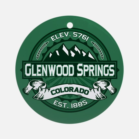 Glenwood Springs Forest Ornament (Round)