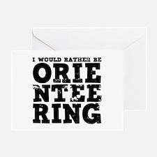 'Orienteering' Greeting Card