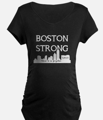 boston strong 59 darks Maternity T-Shirt