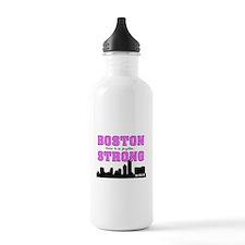 boston strong 55 pink Water Bottle