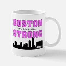 boston strong 55 pink Mug