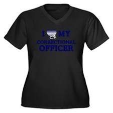 Love Correctional Officer Plus Size T-Shirt