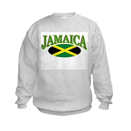 JAMAICA SHIRT, JAMAICA FLAG S Kids Sweatshirt