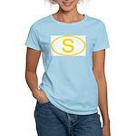 Sweden - S Oval Women's Pink T-Shirt