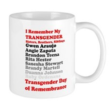I Remember My Transgender Brothers, Sisters, Sibli