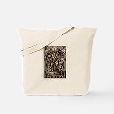 Satan Enthroned Tote Bag